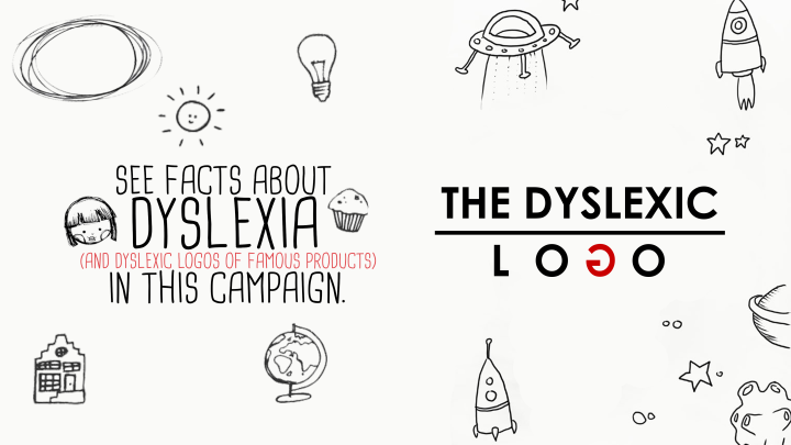 The Dyslexic Logo Poster