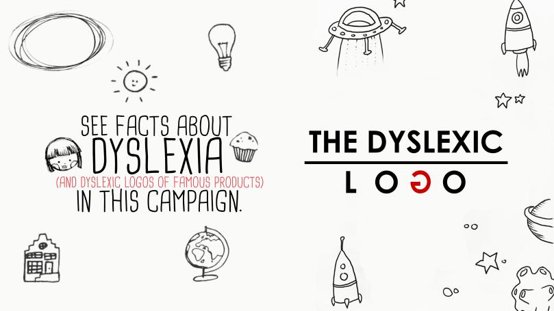 The Dyslexic Logo Poster